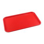 Поднос столовый из полипропилена 525х325 мм красный фото, купить в Липецке | Uliss Trade