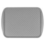 Поднос столовый из полистирола 450х350 мм серый фото, купить в Липецке | Uliss Trade