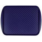 Поднос столовый из полистирола 450х350 мм синий фото, купить в Липецке | Uliss Trade