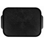 Поднос столовый из полистирола 450х355 мм черный фото, купить в Липецке | Uliss Trade