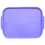 Поднос столовый из полистирола 450х355 мм голубой фото, купить в Липецке | Uliss Trade