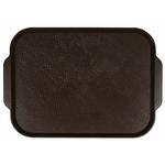 Поднос столовый из полистирола 450х355 мм темно-коричневый фото, купить в Липецке | Uliss Trade