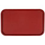 Поднос столовый из полистирола 530х330 мм темно-красный фото, купить в Липецке | Uliss Trade