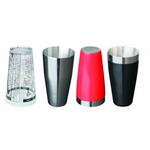 Шейкерный стакан металлический V, мл 700 ( Черный винил) фото, купить в Липецке | Uliss Trade
