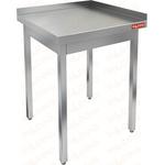 Стол производственный пристенный с двумя бортами без полки HICOLD НСО-6/7ББ фото, купить в Липецке | Uliss Trade