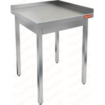 Стол производственный пристенный с двумя бортами без полки HICOLD НСО-7/6ББ фото, купить в Липецке | Uliss Trade