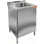Стол производственный с распашными дверцами и моечной ванной HICOLD НСЗ1М-6/7БП фото, купить в Липецке | Uliss Trade