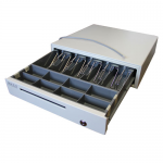 Денежный ящик 1.0/К0 (большой, серый)