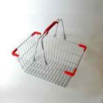 Корзина покупательская металлическая SB10-СR фото, купить в Липецке | Uliss Trade