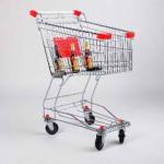 Тележка покупательская STA060-BX-MALL фото, купить в Липецке | Uliss Trade