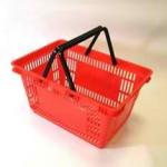 Корзина покупательская пластиковая SBP27