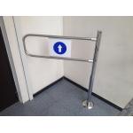 Рамка на вход в магазин поворотная TRGS-100/ТЭ (Россия) фото, купить в Липецке | Uliss Trade