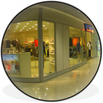 Зеркало сферическое, диаметр 400 мм