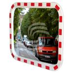 Зеркало дорожное со световозвращающей окантовкой прямоугольное фото, купить в Липецке | Uliss Trade