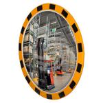 Индустриальное зеркало обзорное круглое