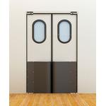 Маятниковые двери коммерческой серии фото, купить в Липецке | Uliss Trade