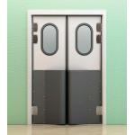 Маятниковые двери с фиксацией