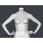 Торс женский ТДЖ-02 (металик)