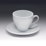 Чайная пара с круглым блюдцем «Collage» 200 мл фото, купить в Липецке | Uliss Trade