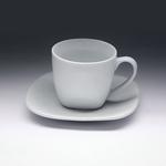 Чайная пара с квадратным блюдцем «Collage» 220 мл фото, купить в Липецке | Uliss Trade