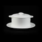 Горшочек с крышкой без блюдца «Chan Wave» 300 мл фото, купить в Липецке | Uliss Trade