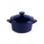 Горшочек с крышкой синий «Chan Wave» 300 мл фото, купить в Липецке | Uliss Trade