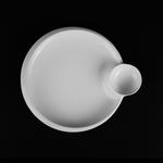 Тарелка для завтрака «Chan Wave» 275 мм фото, купить в Липецке | Uliss Trade