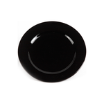 Тарелка мелкая черная «Chan Wave» 175 мм фото, купить в Липецке | Uliss Trade