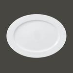 Тарелка овальная 34 см., плоская ASOP34 фото, купить в Липецке | Uliss Trade