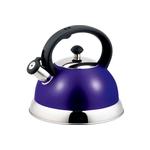 Чайник со свистком 2,5 л ТМ Appetite арт. HSK-H063/фиолетовый фото, купить в Липецке | Uliss Trade