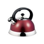 Чайник со свистком 2,5 л ТМ Appetite арт. HSK-H063/красный фото, купить в Липецке | Uliss Trade