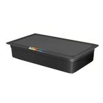 Гастроемкость GN 1/1 h=100 п/п черная фото, купить в Липецке | Uliss Trade