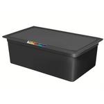 Гастроемкость GN 1/1 h=150 п/п черная фото, купить в Липецке | Uliss Trade