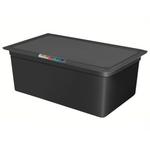 Гастроемкость GN 1/1 h=200 п/п черная фото, купить в Липецке | Uliss Trade