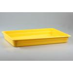 Гастроемкость GN 1/1 h=65 п/п желтая фото, купить в Липецке | Uliss Trade
