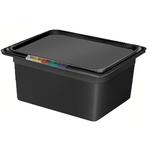 Гастроемкость GN 1/2 h=150 п/п черная фото, купить в Липецке | Uliss Trade