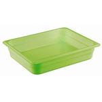 Гастроемкость GN 1/2 h=65 п/п зеленая фото, купить в Липецке | Uliss Trade