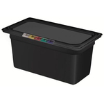 Гастроемкость GN 1/3 h=150 п/п черная фото, купить в Липецке | Uliss Trade