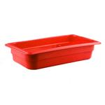 Гастроемкость GN 1/3 h=65 п/п красная фото, купить в Липецке | Uliss Trade