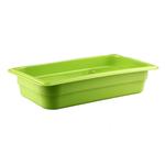 Гастроемкость GN 1/3 h=65 п/п зеленая фото, купить в Липецке | Uliss Trade
