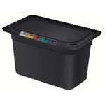 Гастроемкость GN 1/4 h=150 п/п черная фото, купить в Липецке | Uliss Trade