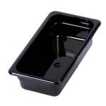 Гастроемкость из поликарбоната GN 1/4 265х164х65 мм черная фото, купить в Липецке | Uliss Trade