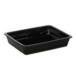 Гастроемкость керамическая «Corone» GN 1/2 326х265х60 мм черная фото, купить в Липецке | Uliss Trade