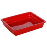 Гастроемкость керамическая «Corone» GN 1/2 326х265х60 мм красная фото, купить в Липецке | Uliss Trade