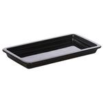 Гастроемкость керамическая «Corone» GN 1/3 322х168х38 мм черная фото, купить в Липецке | Uliss Trade