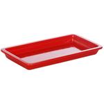 Гастроемкость керамическая «Corone» GN 1/3 322х168х38 мм красная фото, купить в Липецке | Uliss Trade