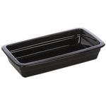 Гастроемкость керамическая «Corone» GN 1/3 328х175х60 мм черная фото, купить в Липецке | Uliss Trade