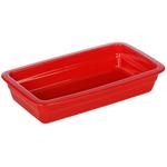 Гастроемкость керамическая «Corone» GN 1/3 328х175х60 мм красная фото, купить в Липецке | Uliss Trade