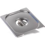 Крышка Luxstahl из нержавеющей стали для GN 1/2 с ручками фото, купить в Липецке | Uliss Trade