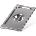 Крышка Luxstahl из нержавеющей стали для GN 1/3 с ручками фото, купить в Липецке | Uliss Trade